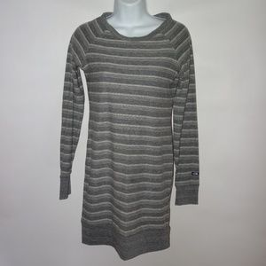 North Face XS Gray Athletic Knit Aloona Dress